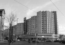 Stadtarchitektur, die abschreckt: Am nördlichen Eingang zur Braunschweiger Innenstadt ein öder Verhau von Verkehrsflächen und brutaler Klotz-Architektur
