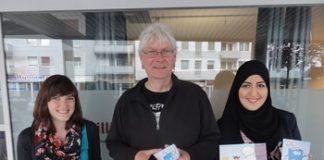 Sie betreuen die Projekte an der Freiwilligenagentur: Mareile Hansen, Axel Klingenberg und Ikram El-Yazidi (v.l.n.r.)